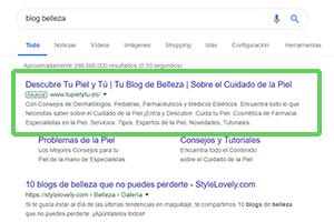 Campaña de PPC en búsqueda de Google de la mano de COMOon