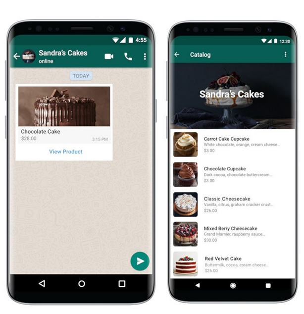 Catálogo de productos en Whatsapp Business